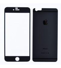 Folie sticla securizata tempered glass iPhone 6 Plus - Negru mat