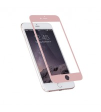Folie sticla securizata tempered glass iPhone 6 - Rose Gold