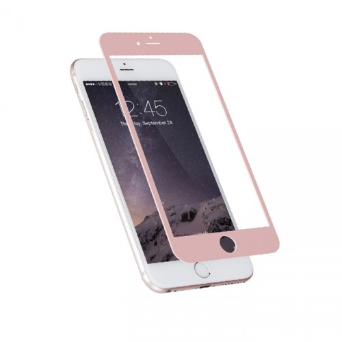 Folie sticla iPhone 6 Rose Gold, Folii iPhone - TemperedGlass.ro