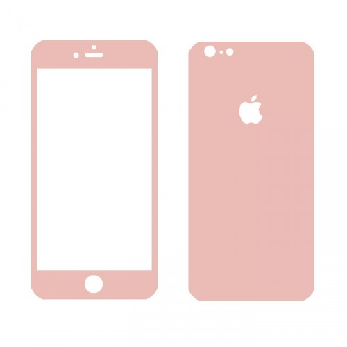 Folie sticla iPhone 6 Rose set, Folii iPhone - TemperedGlass.ro