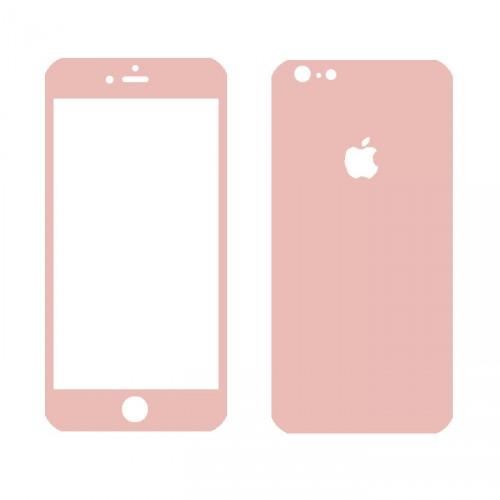 Folie sticla iPhone 6 Rose set, Folii iPhone - TemperedGlass.ro