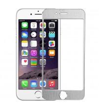 Folie sticla securizata tempered glass iPhone 6 - Silver aluminium
