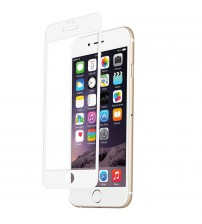 Folie sticla securizata tempered glass iPhone 6 - White