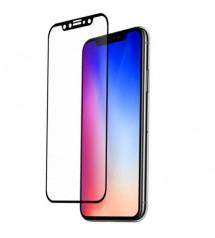 Folie sticla securizata tempered glass iPhone XS 3D Black