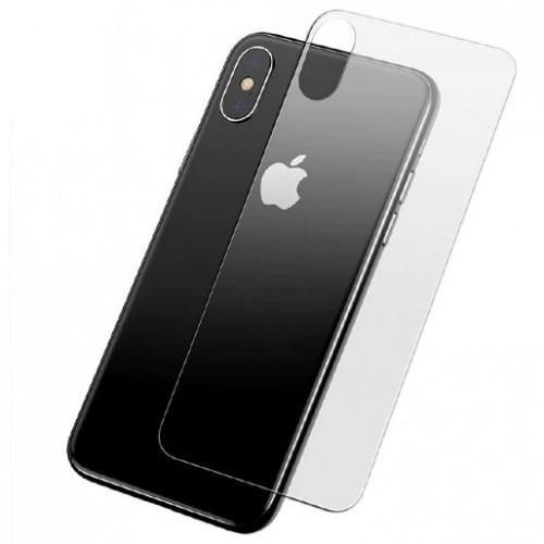 Folie sticla iPhone XS spate, Folii iPhone - TemperedGlass.ro