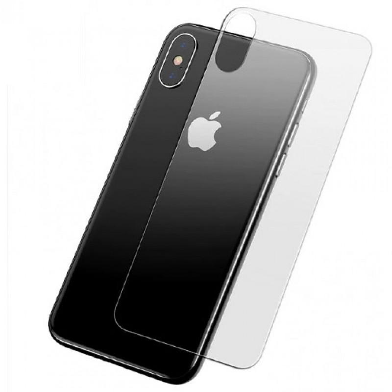 Folie sticla iPhone XS Max spate, Folii iPhone - TemperedGlass.ro