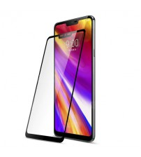 Folie sticla securizata tempered glass LG G7, Black