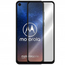 Folie sticla securizata tempered glass Motorola One Vision, Black