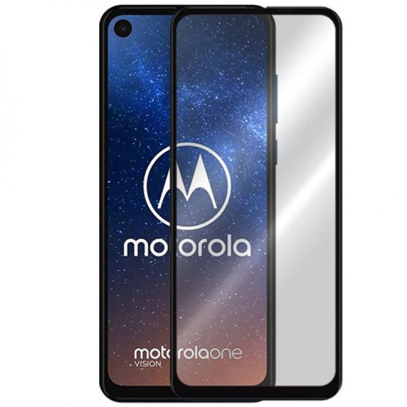 Folie sticla Motorola One Vision Black, Folii Motorola - TemperedGlass.ro