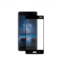 Folie sticla securizata tempered glass Nokia 8 Full Black