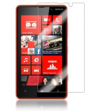 Folie sticla securizata tempered glass Nokia Lumia 820 [Promo DoubleUP]