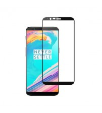 Folie sticla securizata tempered glass OnePlus 5T, Black