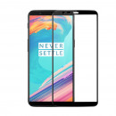 Folie sticla securizata tempered glass OnePlus 5T, FULL GLUE, 3D Black