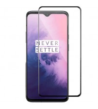 Folie sticla securizata tempered glass OnePlus 7, 3D Black