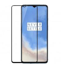 Folie sticla securizata tempered glass OnePlus 7T, FULL GLUE, 3D Black