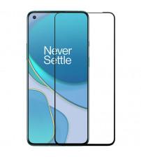 Folie sticla securizata tempered glass OnePlus 8T, FULL GLUE, 3D Black