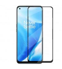 Folie sticla securizata tempered glass OnePlus Nord 2 5G, Black