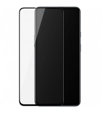 Folie sticla securizata tempered glass OnePlus Nord, Black