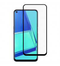 Folie sticla securizata tempered glass Oppo A72, Black