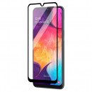 Folie sticla securizata tempered glass Samsung Galaxy A10, Black