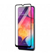 Folie sticla securizata tempered glass Samsung Galaxy A12, Black