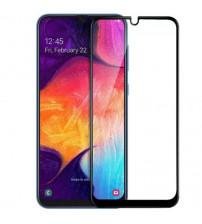 Folie sticla securizata tempered glass Samsung Galaxy A20S, Black