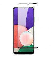 Folie sticla securizata tempered glass Samsung Galaxy A22 4G, Black