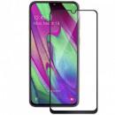 Folie sticla securizata tempered glass Samsung Galaxy A41, Black