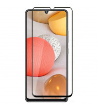 Folie sticla securizata tempered glass Samsung Galaxy A42, Black