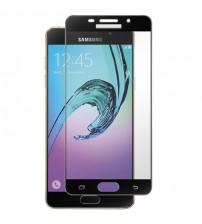 Folie sticla securizata tempered glass Samsung Galaxy A5 2016, Black