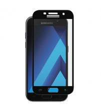 Folie sticla securizata tempered glass Samsung Galaxy A3 2017 - Black