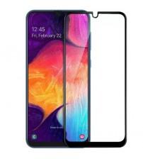 Folie sticla securizata tempered glass Samsung Galaxy A50, Black