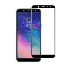 Folie sticla securizata tempered glass Samsung Galaxy A6 2018 Black