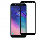 Folie sticla securizata tempered glass Samsung Galaxy A6 Plus 2018 Black
