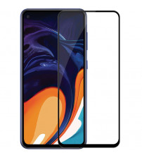Folie sticla securizata tempered glass Samsung Galaxy A60, Black