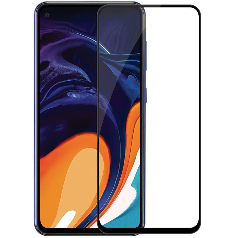 Folie sticla Samsung Galaxy A60 Black, Folii Samsung - TemperedGlass.ro