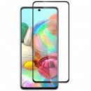 Folie sticla securizata tempered glass Samsung Galaxy A71, Black