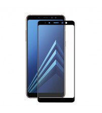 Folie sticla securizata tempered glass Samsung Galaxy A8 2018 Black