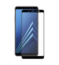 Folie sticla securizata tempered glass Samsung Galaxy A8 Plus 2018 Black