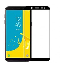 Folie sticla securizata tempered glass Samsung Galaxy J4 Plus, Black