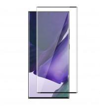 Folie sticla securizata tempered glass Samsung Galaxy Note 20 Ultra, 3D Black