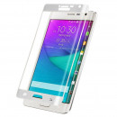 Folie sticla securizata tempered glass Samsung Galaxy Note Edge Full 3D - White