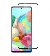 Folie sticla securizata tempered glass Samsung Galaxy A51, Black