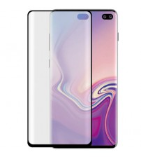 Folie sticla securizata tempered glass Samsung Galaxy S10 Plus - 3D Black