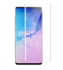 Folie sticla securizata tempered glass Samsung Galaxy S10 Plus, Full Glue UV
