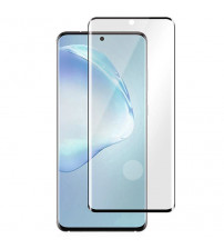 Folie sticla securizata tempered glass Samsung Galaxy S20 Plus, 3D Black