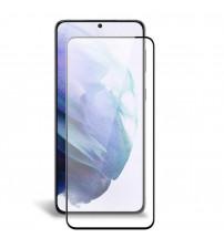 Folie sticla securizata tempered glass Samsung Galaxy S21, Black
