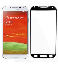 Folie sticla securizata tempered glass Samsung Galaxy S4 - Black aluminium