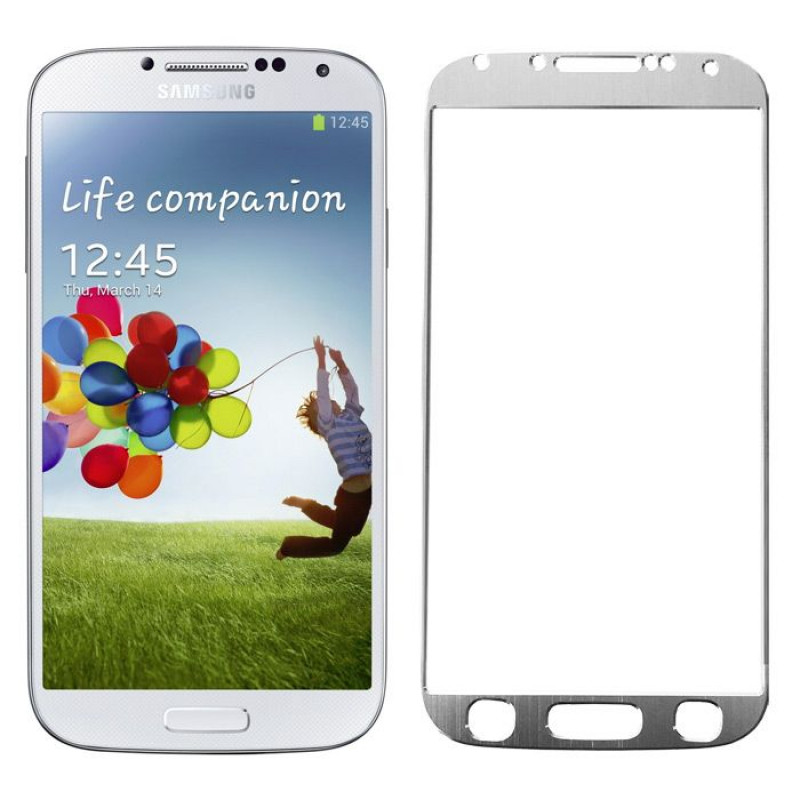 Folie sticla Samsung S4 Silver, Folii Samsung - TemperedGlass.ro
