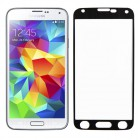 Folie sticla securizata tempered glass Samsung Galaxy S5 - Black aluminium